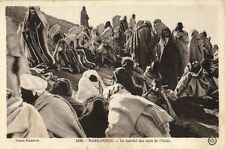CPA Maroc Marrakech Le Marché des tapis de L'Atlas (25157)