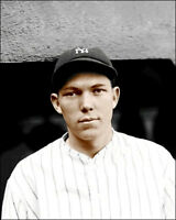 Bill Dickey #1 Photo 8X10 - 1928 Yankees COLORIZED