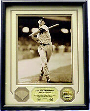 TED WILLIAMS, Boston Red Sox, Game Used Bat Piece & Photo Display, Ltd/550/COA