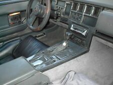 CHEVROLET CHEVY CORVETTE C4 C-4 REAL CARBON FIBER DASH TRIM KIT 1986 1987 88 89