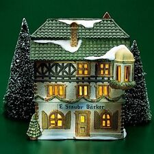 Dept 56 Alpine Village E. Staubr Backer #65408 Retired