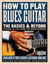 How to Play Blues Guitar Book Lessons and Tips