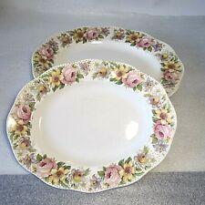🔅 2 plats ovales en porcelaine Wedgwood modèle Newport