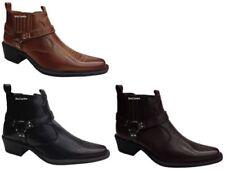 Botas de hombre negras textiles, Talla 41
