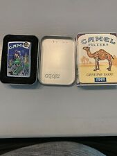 New Listing1997 Joe Camel Zippo Lighter Motorcycle And Moon City Scene Unfired Sealed