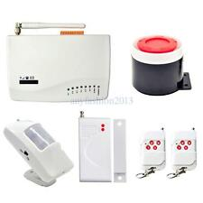 Wireless GSM Home Hotel Office Burglar Alarm System Auto Dialer SMS 433MHz Hot
