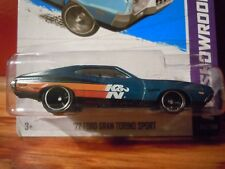 2013 Hot Wheels Super Treasure Hunt Blue 1972 Ford Gran Torino Sport K&N