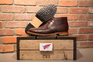 Red Wing Heritage 9032 Men's Beckman Chukka Boot (Blk Cherry Featherstone Lthr)