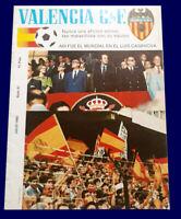 FIFA WORLD CUP SPAIN 1982 - Valencia F.C. magazine