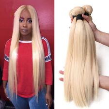 613 Blonde Brazilian Hair Bundles Straight Weave Remy Human Hair Extensions