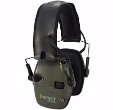 Howard Leight Impact Sport Electronic Shooting Earmuff Ear Pro 22dB - OD GREEN