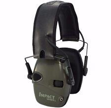 Howard Leight Impact Sport Electronic Shooting Earmuff Ear Pro 22dB - OD GREEN