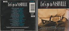 '95 CD - LET'S GO TO NASHVILLE - 25 LEGENDARY COUNTRY CLASSICS - GLEN CAMPBELL