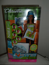 2000 NSYNC #1 FAN Barbie EXCLUSIVE Jointed Generation Girl Dance w CD#50535