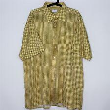 Maus & Hoffman Mens 2XL XXL Made In USA Collared Button Up Shirt A534