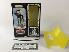 "custom vintage Star wars esb 12"" at-at driver box + inserts"