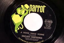 Englebert Humperdinck: A Good Thing Going / The Way It Used to Be  [VG++ Copy]