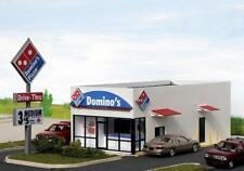 DOMINO'S PIZZA RESTAURANT Building KIT 76x159x57mm HO 1/87 scale SUMMIT DP-001