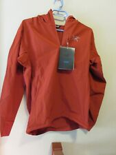 Mens New Arcteryx Sigma SL Anorak Hoody Jacket Size Small Color Infrared