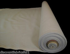 "100% 59"" Cotton Calico Fabric Black White Natural Medium Weight 145gsm By Metre"