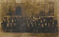 Washington DC Washington School March 17 1909  Antique Real Photo  RPPC Postcard
