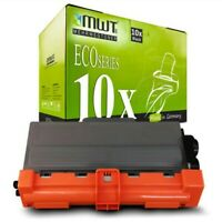 10x MWT Eco Cartucho Compatible para Brother TN-3380 TN3380