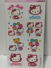 Pkg Hello Kitty Temporary Tattoos (1 Sheet, 8 Perforations) Party Favors