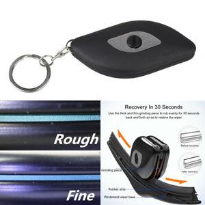 Universal Car Ragged Windshield Wiper Blade Repair Tool Coarse / Fine Edge Trim