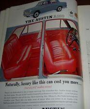 1963 AUSTIN A110 ADVERTISEMENT FROM TATLER MAGAZINE