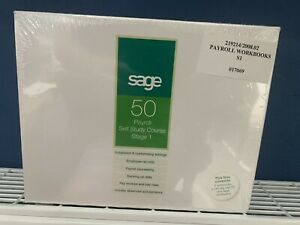 sage 50 payroll self study course stage 1 2007 accounts accountancy