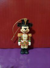 Disney Traditions Christmas Tree Decoration Nutcracker Mickey BNIB