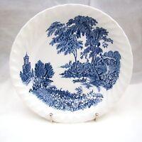 Swinnertons Porcelana Resistente Inglaterra las Ferry (Azul) Sopa Cuenco (S)
