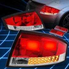 Red Clear 3D LED Brake Signal Tail Light/Lamp for 1999-2006 Audi TT Mk1 Typ 8N