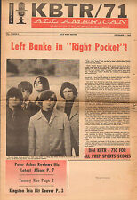 original USA Pop / Teen Magazine KBTR/71 Vol.7 Issue 6  : 1966 : Left Banke etc.