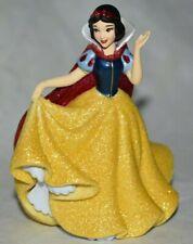 Disney Store Authentic Princess SNOW WHITE FIGURINE Sparkle Cake TOPPER Toy NEW