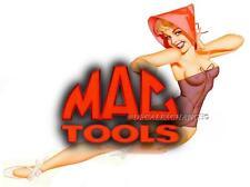 MAC TOOLS BUFFY GIRL GLOSSY DECAL MECHANIC TOOL BOX SEXY PINUP GIRLS USA