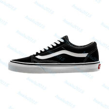 20VANS Old Skool Skate Shoes Black/Blue Classic High Canvas Sneakers UK3-10.5