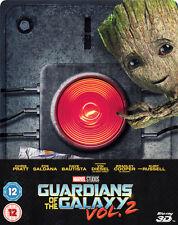 Guardians of the Galaxy Vol. 2 3D (Zavvi Exclusive Ltd Ed Blu-ray Steelbook) [UK