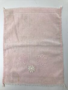 Vintage Pink Floral Hand Face Towel