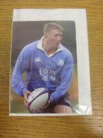 2001/2002 Rugby Union: Scotland Rugby Squad - Fullarton, Iain [Official SRU Play