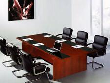 Besprechungstisch Bergamo +6 Stühle JourTym konferenztisch mit stühlen Büromöbel