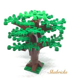 ☀️LEGO Forest Tree@Custom Design 25 green leaves 8 Brown Branches Fast Free Ship