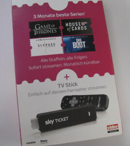 Sky Ticket TV Stick -  inklusive 3 Monate Entertainment TV Stick
