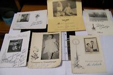 Rare Vintage RPPC Real Photo Postcard Lot Xmas Christmas Cards Etc Holiday Baby