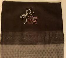 6 Pairs Vintage Nylon Flat Knit Rht Off Black Diamond Stockings 10 1/2� Pin Up
