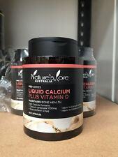 Nature's Care liquid calcium plus VD