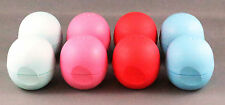 8 x Original EOS Lip Balms - 4 Flavours - Not in Packaging