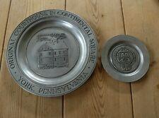 More details for two rwp wilton ametale aluminium alloy york pennsylvania plates (1970s)