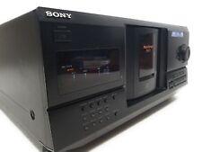 Sony CDP-CX235 200 Mega Storage CD-Player Jukebox-funktioniert!