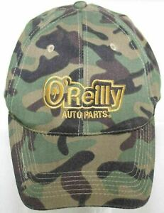 Oreilly Auto Parts Camo Baseball Hat - Camouflage Strapback Cap Adult One Size